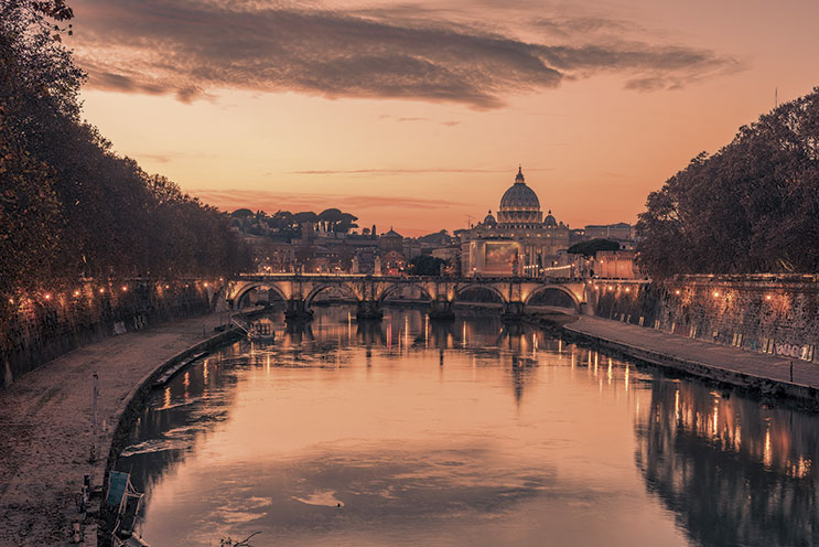 Imagem E4013-De Amsterdam a Roma por Suiza