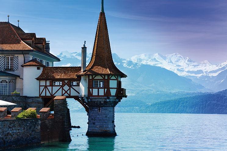 Imagem E4024-Suiza, Austria, Danubio e Italia