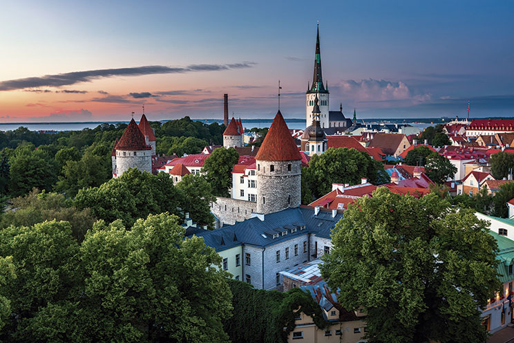 Imagem E4148-Países Bálticos y Polonia (Avión)