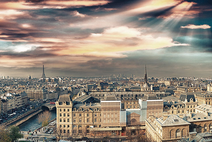 Imagem E4177-Italia Nel Cuore y París