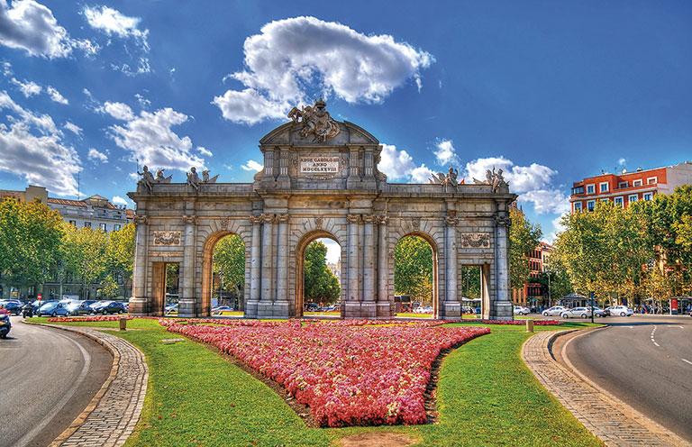 Imagem S5014.1-Madrid, París y Países Bajos + Extensión Rhin